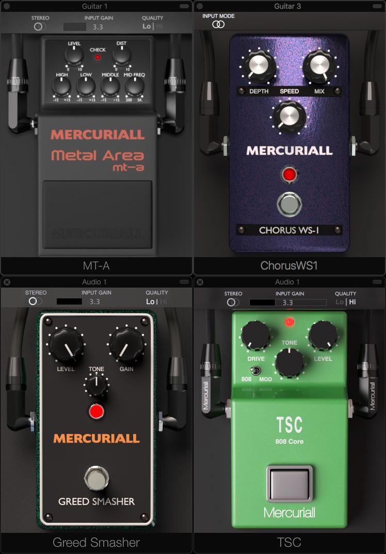Free VST guitar pedals