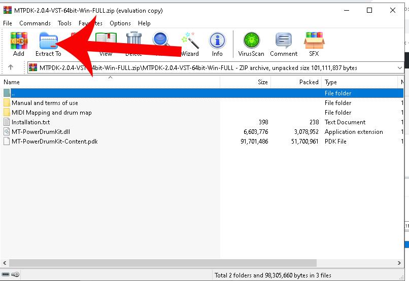 Extract dll plugin to VST folder using Reaper